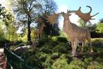 Crystal Palace Park Megaloceros by PaleoGuy