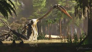 Quetzalcoatlus by PaleoGuy