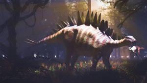 Tuojiangosaurus by PaleoGuy