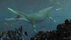Kronosaurus by PaleoGuy