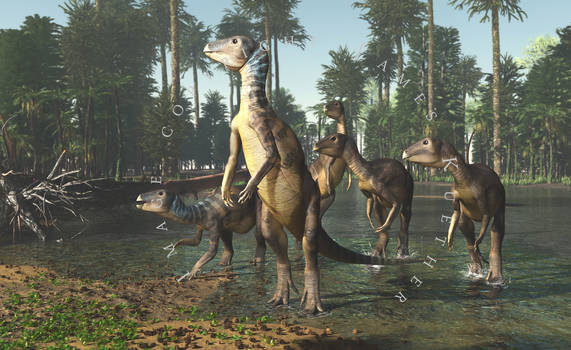 Weewarrasaurus pobeni by PaleoGuy
