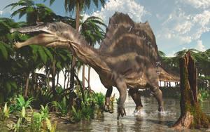 Spinosaurus by PaleoGuy