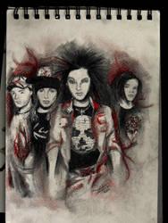 Wir sind...Tokio Hotel by Gothvm