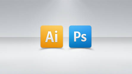 Creative Suite Simple icons by Side-7