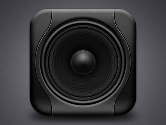 Studio monitor icon by Side-7