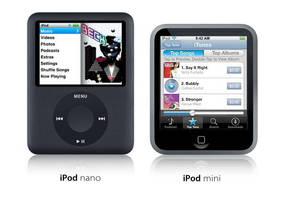 The new iPod mini by usedHONDA