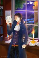 Spooky Art Exchange: Nikolai by FruitTartz