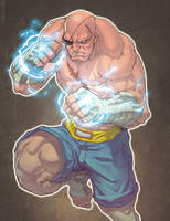 Sagat By NgBoy by deccaart