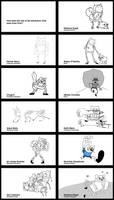 How The Adventure Time Team Draws Finn by ElArtistaJACO