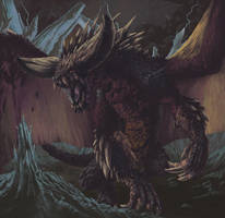 Nergigante - Monster Hunter World by Duhrakos