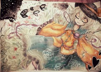 Touhou-Koishi Komeiji by Basterbine06
