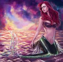 Disney Ariel by MagicnaAnavi