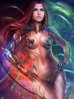 Sara Pezzini - Witchblade by MagicnaAnavi