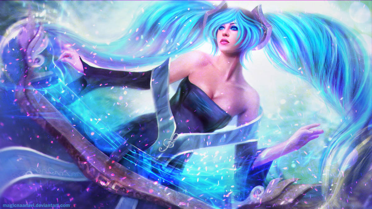 Sona - Maven of the Strings by MagicnaAnavi