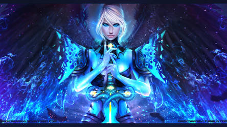 GW2 Dragonhunter - Wings of Resolve by MagicnaAnavi