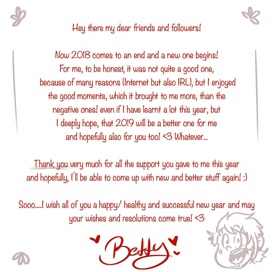 New Year by BettyHToony