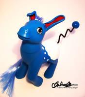 Azumarill Custom My Little Pony by thatg33kgirl