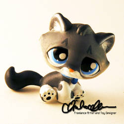 Lunkage custom Littlest Pet Shop toy by thatg33kgirl