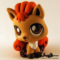 Vulpix custom Littlest Pet Shop by thatg33kgirl