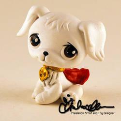 Krypto the Super Dog custom LPS by thatg33kgirl
