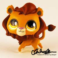 Simba custom LPS by thatg33kgirl