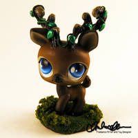 Forest Spirit Elk Custom LPS by thatg33kgirl