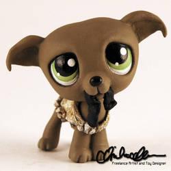 Dobby Dog custom LPS by thatg33kgirl