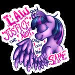 Revolutionary Ponies - Twilight Sparkle by Glitchdove