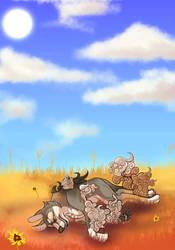 (Com) Little Naps of Sunshine by Glitchdove