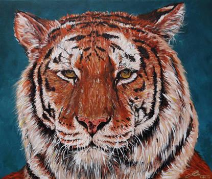Siberian Tiger by Abatwa-Oolie