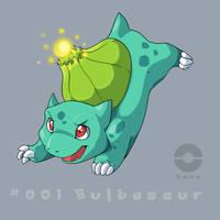 001: Bulbasaur by pokehasu