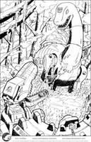 Sludge vs. Skullcruncher by Aricosaur