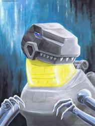 Grimlock Portrait by Aricosaur