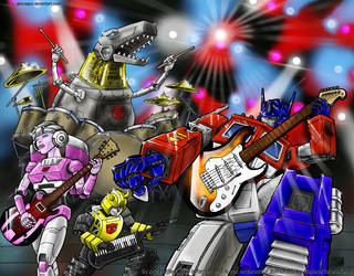 Transformers Rock by Aricosaur