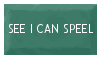 SEE I CAN SPEEL -A Stamp by Mardith