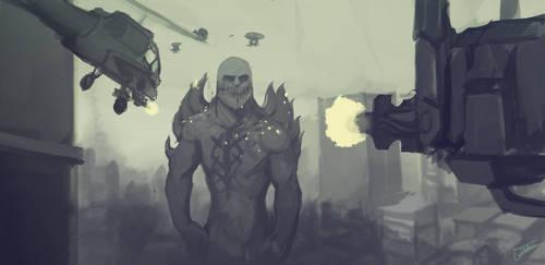 Monarch Metal by ZombieCentipede