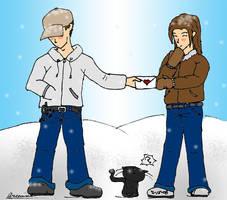 Winter Valentines Day by Arcemise