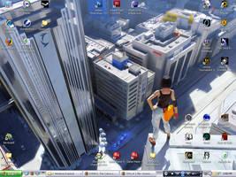The Mirror's Edge - Desktop by Arcemise
