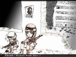 Kawaii War - Night Watch by Arcemise