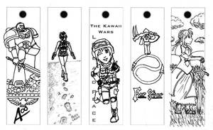 Bookmarks - Set 1 by Arcemise
