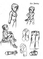 Doodles - Eve Sketches by Arcemise