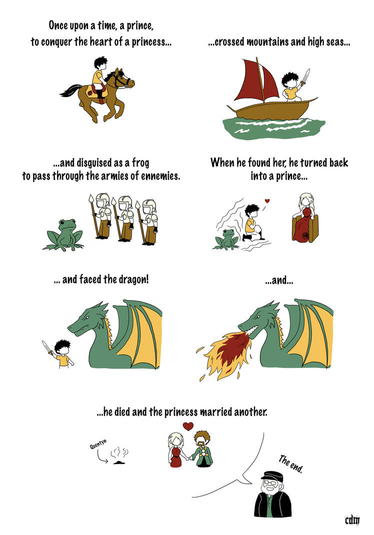 The grr'm fairytale of Prince Quentyn Martell by CerseiDM