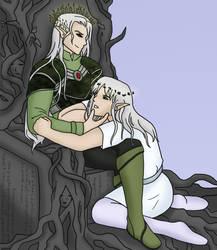 Eranthian and Kazial by CerseiDM