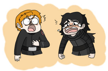 Kylux silly faces~ by CerseiDM