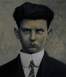 Blue-eyed Boy by cherootz