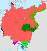 Greater Germany Ethnic Map (old version) by Lehnaru