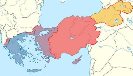 Restored Byzantine Empire by Lehnaru