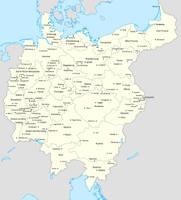 Cities of Greater Germany by Lehnaru