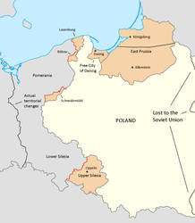 Initial Polish Territorial Claims Against Germany by Lehnaru