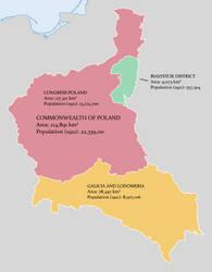 Territorial Composition of Poland by Lehnaru
